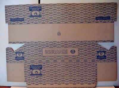 10  Downyflake Donuts Boxes - Unused