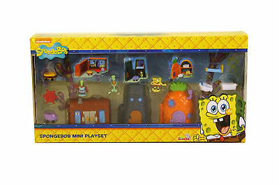 Simba SpongeBob Squarepants And Friends Mini Playset Film Character Toys Tv New
