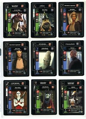 Young Jedi CCG Reflections Complete Set of 100 Cards - 40 Base + 60 Rare Foil