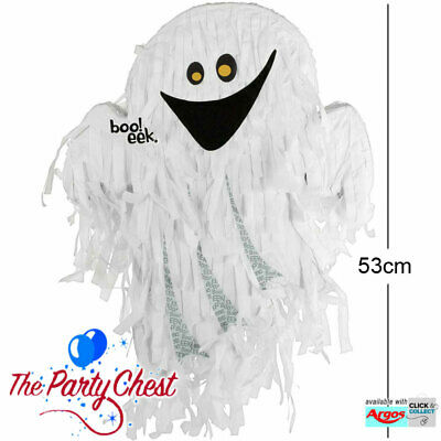 53CM GHOST HALLOWEEN PARTY PINATA Traditional Fun Party Game Decoration P19720