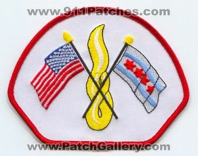Chicago Fire Department Patch Illinois IL v5 SKUB1