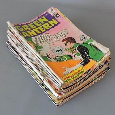 DC Comics: Collection of 39 Vintage 'Green Lantern' 1962-1972 Comic Books