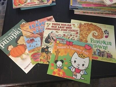 Children's Fall Book 📚 Lot Of 5🍁🍂