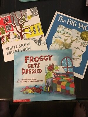Children's Winter Book Lot Of 5 ❄️ ⛄️