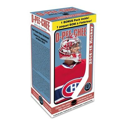 2014-15 Upper Deck O-Pee-Chee NHL Hockey, 14 Pack Box