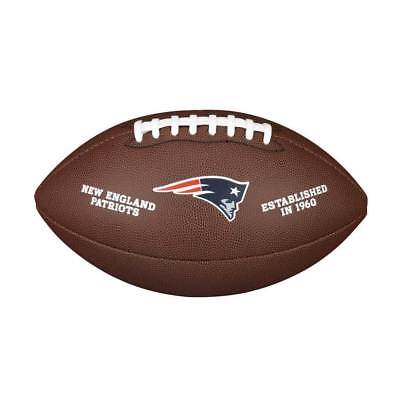 Wilson New England Patriots Licensed Full Size NFL Football