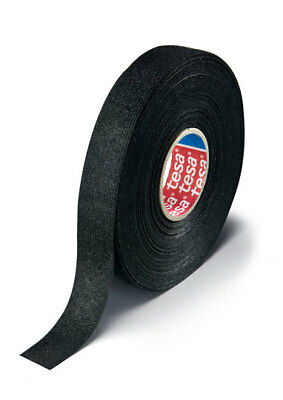 "Tesa 51618 Adhesive Pet Fleece Wire Harness Tape, 3/4"" X 25M, Cloth Friction Fs"