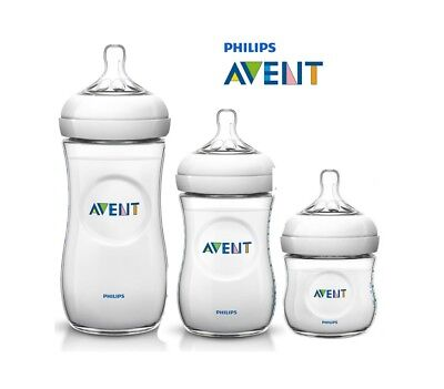 PHILIPS AVENT Natural Baby Feeding Milk Bottle BPA Free PP 4oz 9oz 11oz Genuine