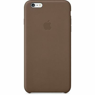 iPhone 6 Plus / iPhone 6S Plus Brown real leather case MGQR2ZM/A genuine apple