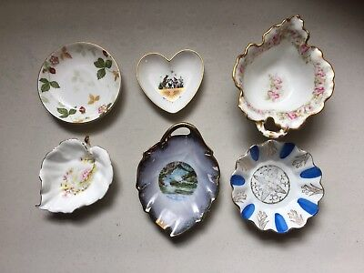 Lot Of Vintage Pin Trays Limoge East Germany Wedgwood Strawberry