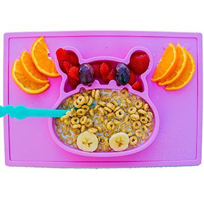 Baby Place Mats Silicone Placemat And Plate Tray For Infants Toddlers Kids These