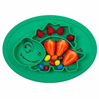 Place Mats Mini Silicone Placemat 11''x8''x1'', One-Piece Plate For Babies, And