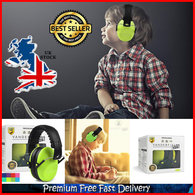 New Ear Defenders for Kids Toddlers Children Babies Hearing Protection UK Gift
