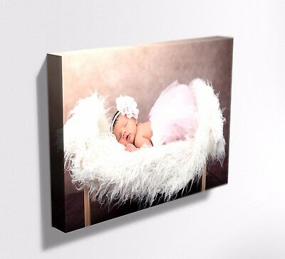 Your Photo Picture On Canvas Print  Framed ! Ready To Hang !  Deep Frame Mataga