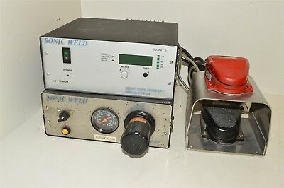 Sonic Tool Sonic Weld lot ultrasonic welder