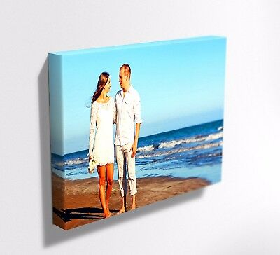 Your Photo Picture On Canvas Print ! Framed ! Deep Frame  Mataga .