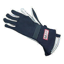 RJS SAFETY Large Black Single Layer Driving Gloves P/N 600020105