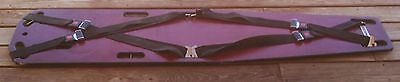 """FERNO 72"""" Portable Wooden Spine Board Stretcher with STRAPS"""