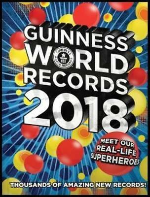 The Guinness Book of World Records 2018 - Brand New Book - Hardcover