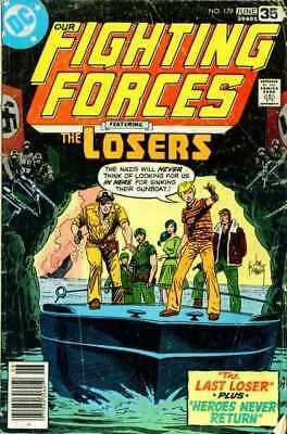 Our Fighting Forces #179 in Very Fine - condition. FREE bag/board