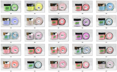 SNS Dipping Nail Color Dip Powder Manicure #264-DS24 YOU PICK THE COLOR! 1oz Jar