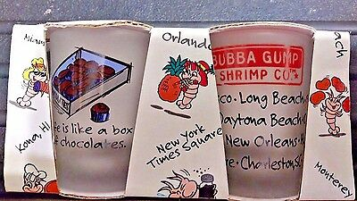 Bubba Gump shot glasses still in the orig. wrapping