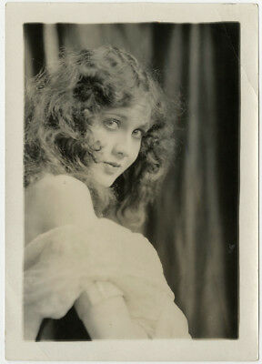 Art Deco Jazz Baby Flapper Mary Brian Vintage 1920s Charles Sheldon Photograph
