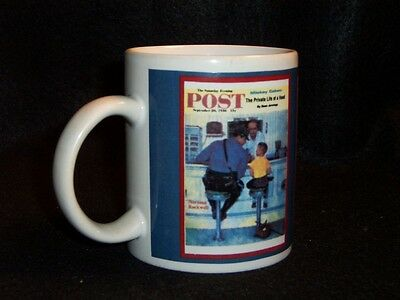 Norman Rockwell Saturday Evening Post cover coffee cup #7