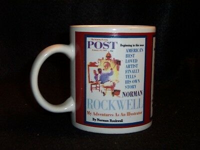 Norman Rockwell Saturday Evening Post cover coffee cup #10