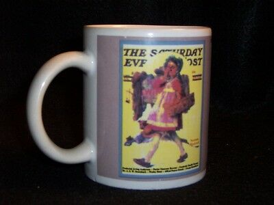 Norman Rockwell Saturday Evening Post cover coffee cup #9