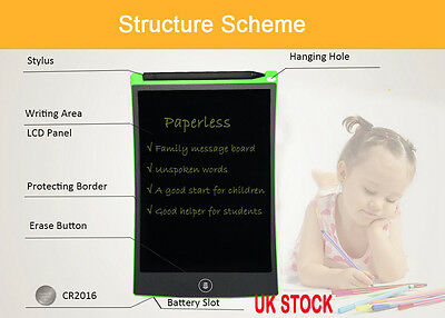"8.5"" LCD digital projector magnetic writing board tablet drawing Message Boards"