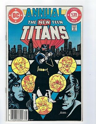 The New Teen Titans Annual # 2 DC FN/VF 1st Appearance of Vigilante