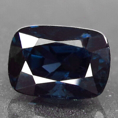 1.96ct.Charming Gem! 100%Natural Neon Blue Spinel Unheated AA Rare Nr!