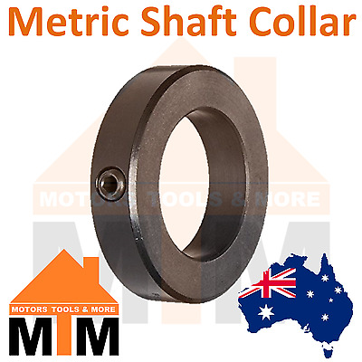 METRIC Shaft Collar 6mm, 10mm, 12mm, 16mm, 20mm, 22mm, 25mm, 28mm, 30mm, 32mm