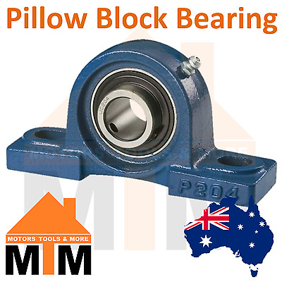 Pillow Block Bearing Self Aligning Bottom Foot Mount Housing 12mm-60mm Bore