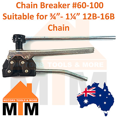 "Chain Breaker #60-100 Suitable for 3/4''-1 1/4"" 12B-16B Chains"