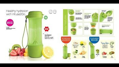 infuse2go Juicing cone bottle on the go Tupperware