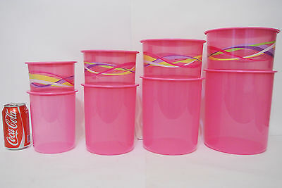 1 set Lovely seal with one touch canister container storage Tupperware