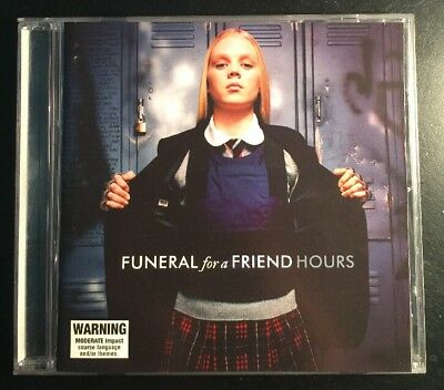 FUNERAL FOR A FRIEND 'HOURS' 2005 EMO HARDCORE CD Album