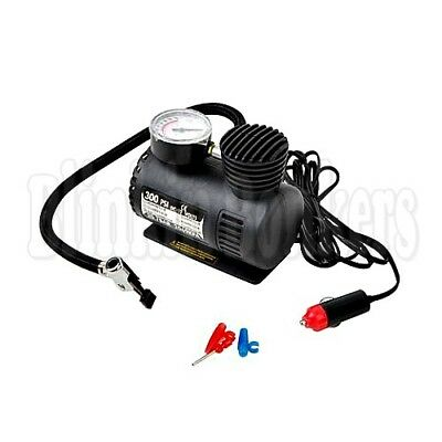 Mini Portable 12V Car Electric Air Compressor For Pump Bike Tyre Inflator 19C
