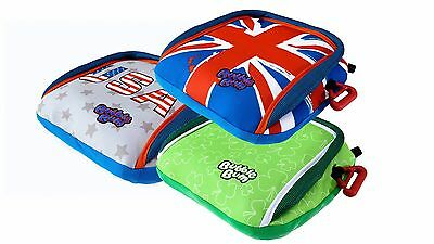 BubbleBum Backless Booster Car Seat - Limited Editions