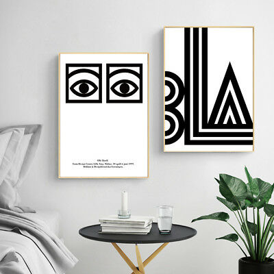 Abstract Canvas Posters Nordic Minimalist Art Print Wall Decor