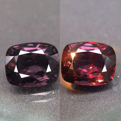 2.78ct.Very Beautiful! 100%Natural Top Color Change Spinel Unheated AA Rare Nr!
