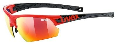 Uvex Sportstyle 224 Sportbrille - red-black