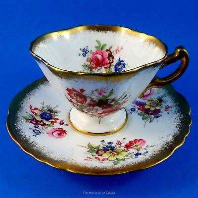 Pretty Lady Patricia Hammersley Demitasse Tea Cup and Saucer Set