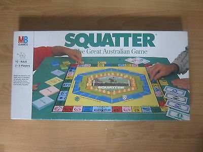 Squatter Board Game - The Great Australian Game -  100 % Complete