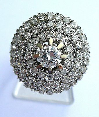 antiker Art Deco Ring Diamant-/Entourage 750 GG Diamanten/ Brillanten