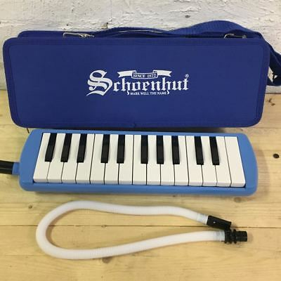 Schoenhut Melodica - 32 Key Blow Keyboard / Organ / Piano - With Carry Case