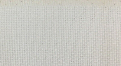 18ct - 18 count Birch White Aida Cloth - Assorted precut sizes only