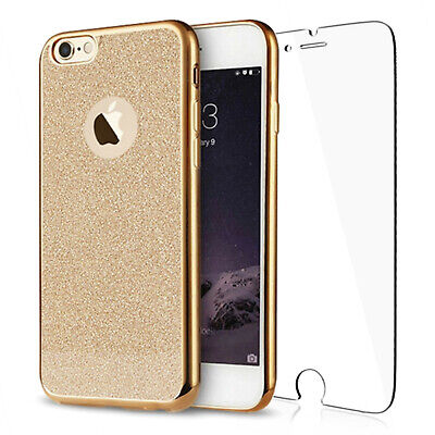 Luxury Bling Glitter Shockproof Soft Silicone Case Cover For iPhone 8 / 8 Plus